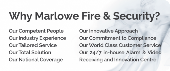 Why Marlowe Fire & Security?