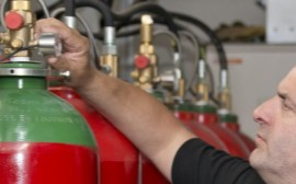 Gas Fire Suppression