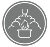 Restaurant Fire Suppression Icon