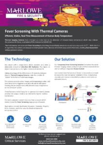 Fever Screening Datasheet