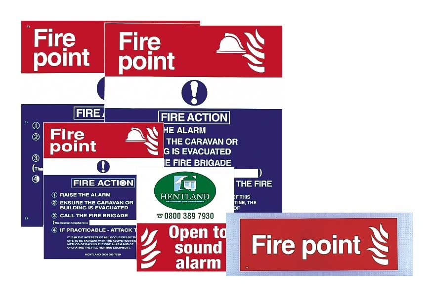 Manual call point signs