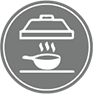 Kitchen Fire Suppression Icon